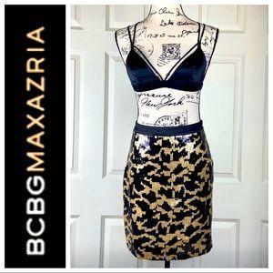 REVOLVE BCBGMaxAzria Sequin Skirt